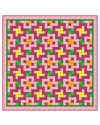 Studio Double Pink Posies Quilt Pattern (PQ10251)