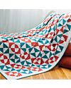 GO! Retro Drunkard's Path Quilt Pattern (PQ10309)