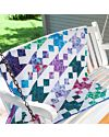 """GO! Qube 9"""" Jewels and Gems Quilt Pattern (PQ11018)"""