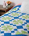 """GO! Qube 10"""" Upbeat Angles Throw Quilt Pattern"""