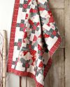 GO! Scandinavian Crazy Winter Quilt Pattern