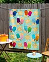 GO! Popsicle Sticks Throw Quilt Pattern