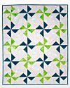 Studio Pinwheel Throw Quilt Pattern