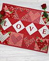 GO! Hearts of Love Wall Hanging Pattern