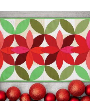 GO! Bloom Table Runner Pattern (PQ10511)