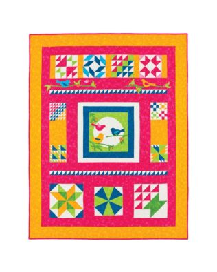 Birdsong Quilt Finishing Directions Download