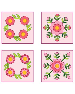 Studio Rose Sampler Quilt Pattern