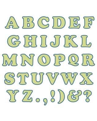 "Studio Carefree 3"" Uppercase Alphabet"
