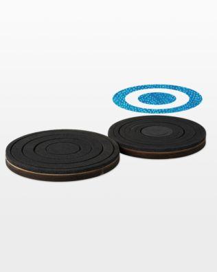 """Bullseye Circles-Even-2"""", 4"""", 6"""", 8"""" for Studio"""