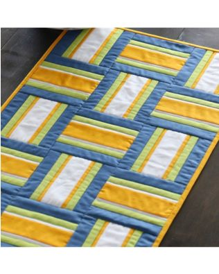Studio Quilter's Basket Table Runner Pattern