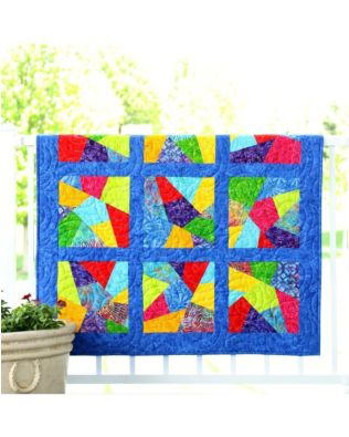 Studio Scrappy Crazy Quilt Pattern