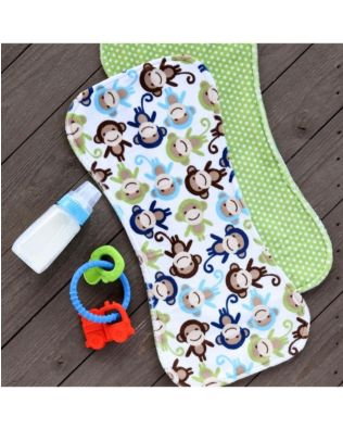 Studio Reversible Baby Burp Cloth Pattern