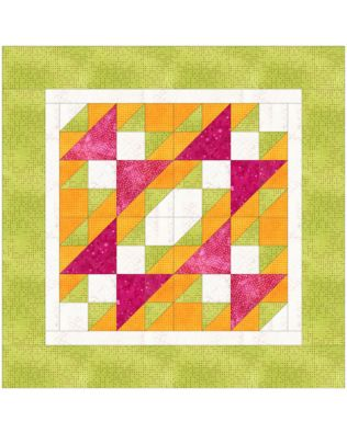 GO! Summer Sensation Pillow Quilt Pattern