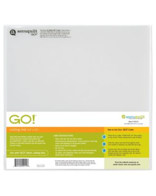 "GO! Cutting Mat 10"" x 10"" 2 Pack"