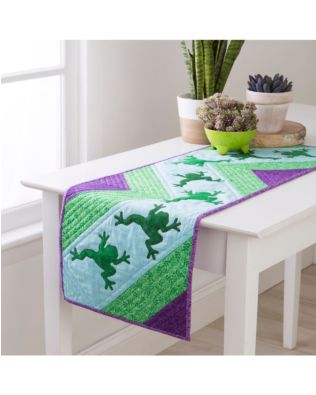 GO! Hop to It Table Runner Pattern