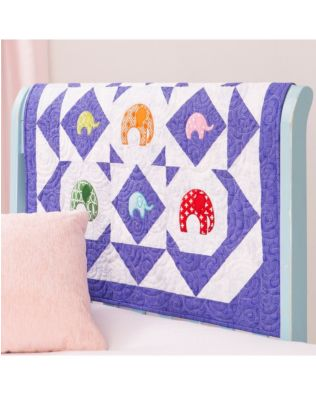 GO! Elephant Carousel Quilt Pattern