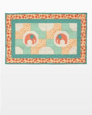 GO! Elephants & Bowties Table Topper Pattern