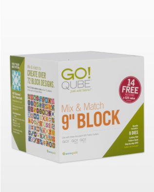 "GO! Qube Mix & Match 9"" Block (55777)"
