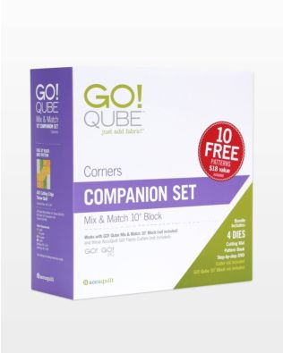 "GO! Qube 10"" Companion Set-Corners"