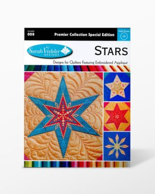 Stars Embroidery Designs CD for GO! (55972)