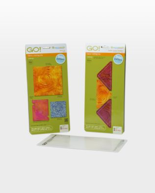 """GO! Flying Geese-4"""" x 2"""" Finished Die Bundle (56010)"""