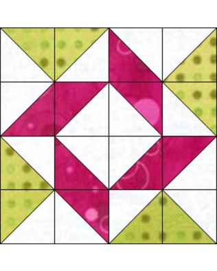 "GO! Qube Whirlpool 9"" Block Pattern (PQ10590Q)"
