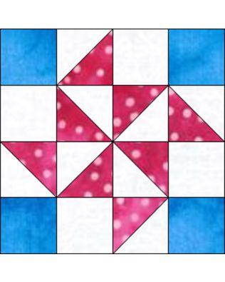 """GO! Flying X 6"""" Block Pattern (PQ10616)"""