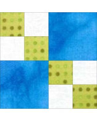 "GO! Double 4-Patch 8"" Block Pattern"