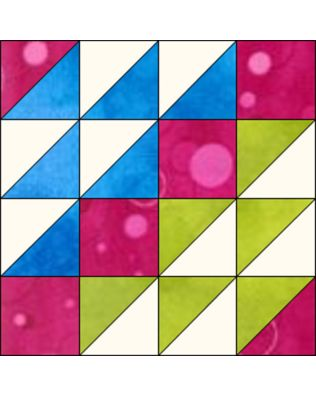 """GO! Flying Birds 12"""" Block Pattern (PQ10455)"""