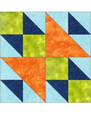"GO! Double X No. 1 8"" Block Pattern"