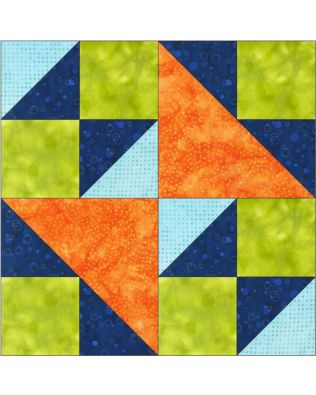 "GO! Double X No. 2 12"" Block Pattern (PQ10450)"