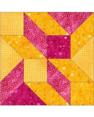 "GO! Freezer Jam 8"" Block Pattern"