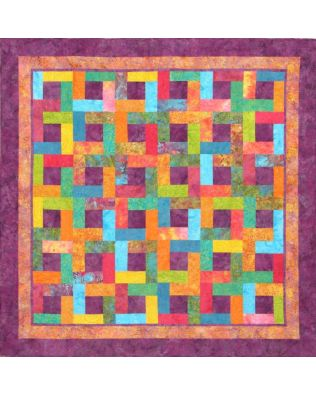 Afternoon in Burgundy Quilt Pattern (JMLC-81)