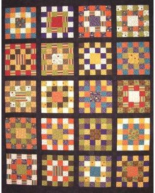 GO! Nana Squares Quilt Pattern