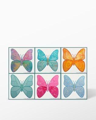 GO! Edyta Sitar Butterfly Machine Embroidery Set by Marjorie Busby (BQ-BUTe)