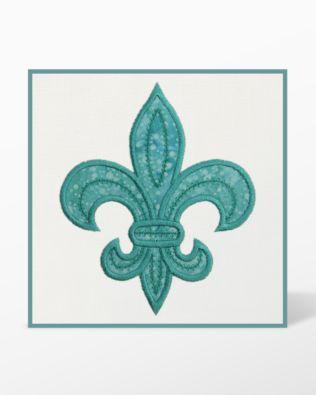 GO! Fleur De Lis Embroidery Designs by Marjorie Busby (BQ-FDLe)