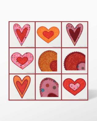 GO! Queen of Hearts Embroidery Designs by Marjorie Busby
