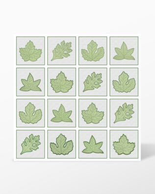 All Leaf Shapes - GO! Rustling Leaves (Large) Embroidery Designs by Marjorie Busby