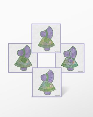 GO! Sunbonnet Sue Embroidery Designs by Marjorie Busby