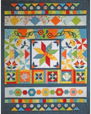 Let's GO! Sampler Quilt Pattern