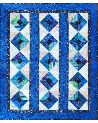 GO! Batik Squares Quilt Pattern