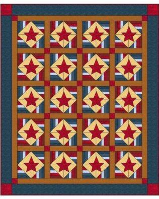 GO! Stars & Bars Quilt (PQDMS-122e)