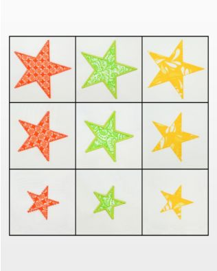 """GO! Star-2"""", 3"""", 4"""" Embroidery Designs"""