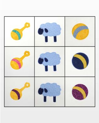 GO! Lullaby Embroidery Designs