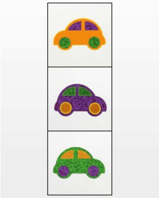 GO! Cute Car Embroidery Designs