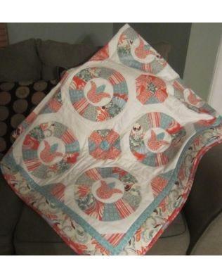 Tulip Tumbler Quilt Pattern