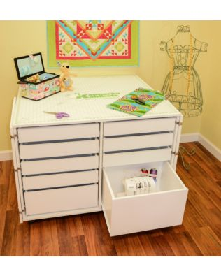 Dingo Sewing Cabinet (White Ash)