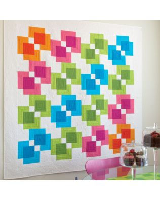 GO! Rectangle Reflection Quilt Pattern (PQ10267)