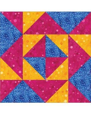 "GO! Blockade 6"" Block Pattern (PQ10599)"
