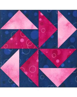 "GO! Dutchman's Puzzle 12"" Block Pattern (PQ10451)"